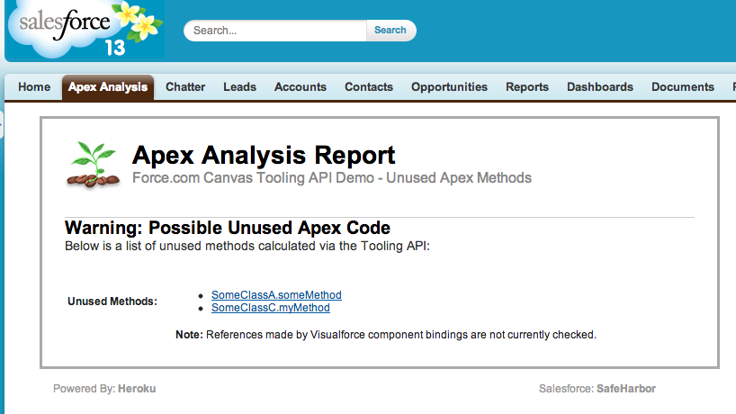 spring cleaning apex code with the tooling api andy in the cloud rh andyinthecloud com Apex Health Apex Health