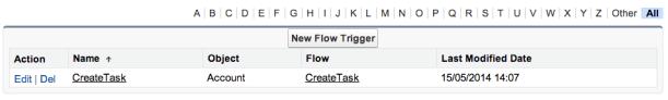 FlowTriggers
