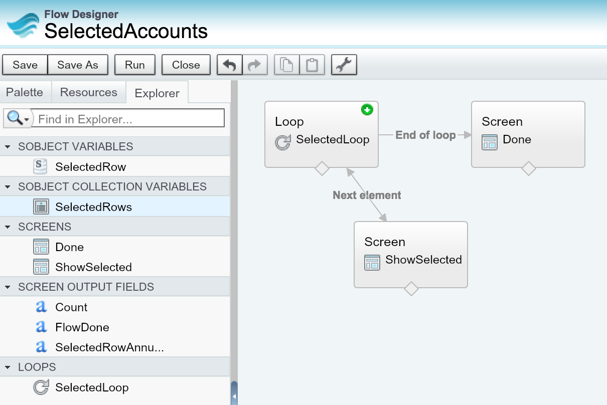 Visual Flow with List View and Related List Buttons | Andy in the Cloud